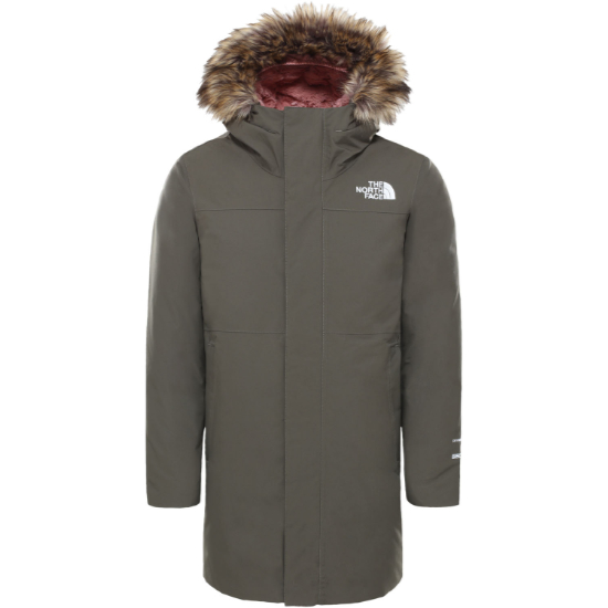 The North Face Arctic Swirl Parka Girl - New Taupe Green