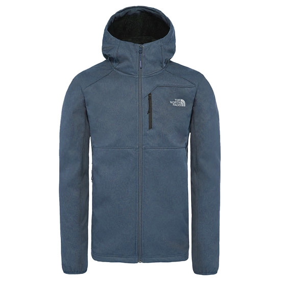 The North Face Quest Hooded Softshell - Mallard Blue