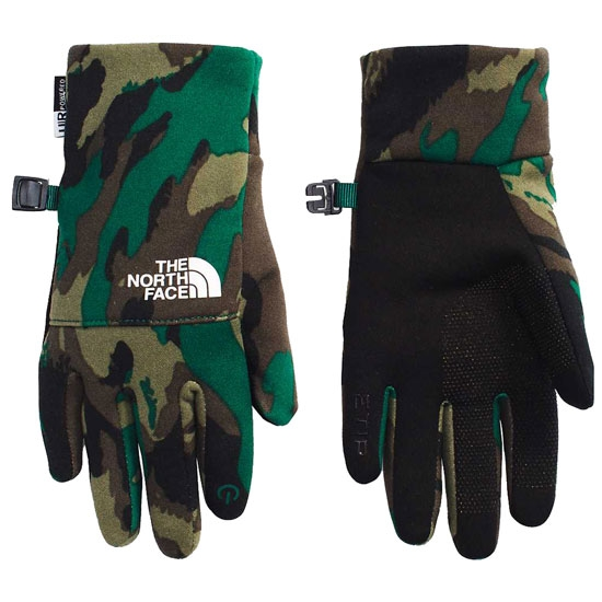 The North Face Recycled Etip Glove Jr - EverGreen