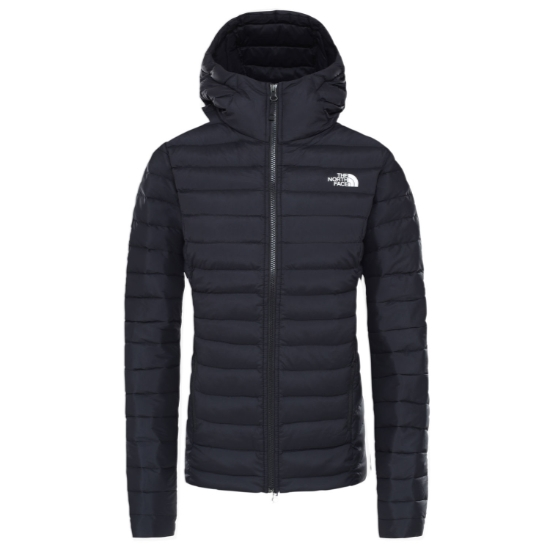 The North Face Stretch Down Hoodie W - Tnf Black