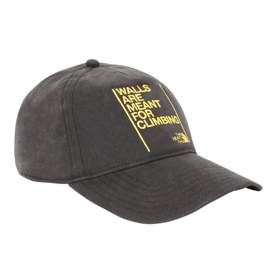 The North Face Walls Ball Cap -  Tnf Black