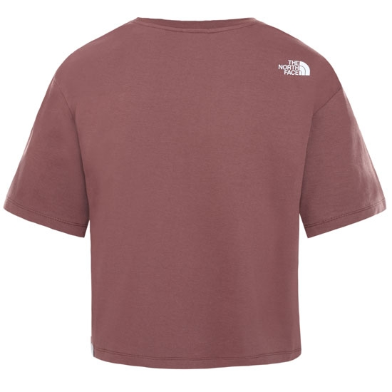 The North Face Cropped Simple Dome Tee W - Photo of detail