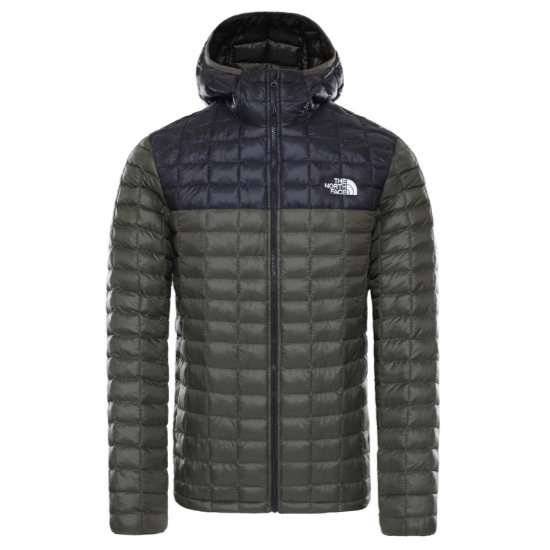 The North Face Thermoball Eco Hoodie - New Taupe Green Matte