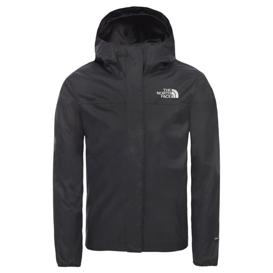The North Face Resolve Reflective Jacket Girls - Tnf Black