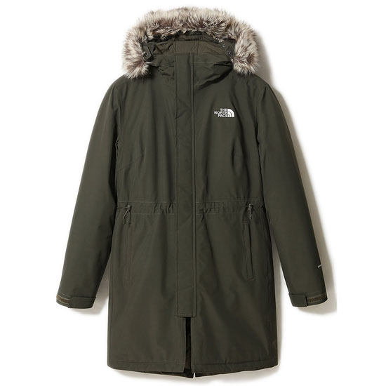 The North Face Recylced Zaneck Parka W - New Taupe Green
