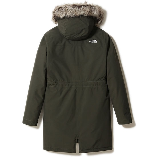 The North Face Recylced Zaneck Parka W - Photo of detail