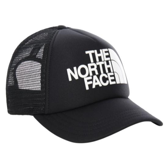 The North Face Eu Y Logo Trucker - Tnf Black/Tnf White