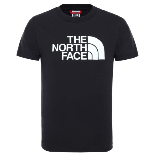 The North Face Easy Tee Youth - Tnf Blk/Glow In The Dark