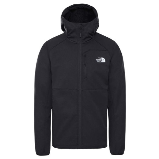 The North Face Quest Hooded Softshell - Tnf Black/Tnf Black
