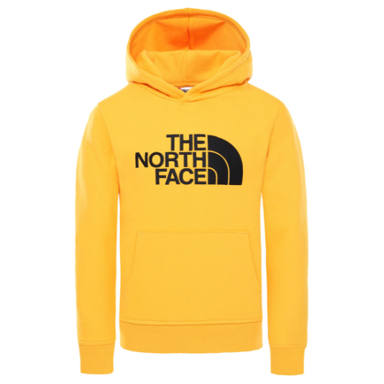 The North Face Drew Peak Pullover Hoodie Youth - Summit Gold