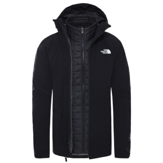 The North Face ThermoBall Eco Triclimate Jacket - TNF Black