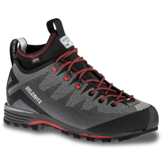 Dolomite Veloce Gtx - Pewter Grey/Fiery Red