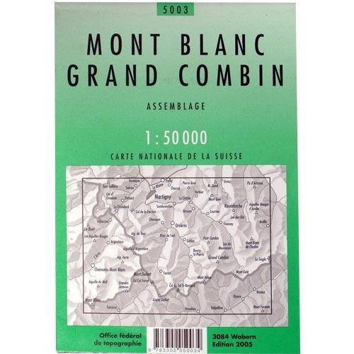 Ed. Swiss Topo Montblac Combin Assambla -