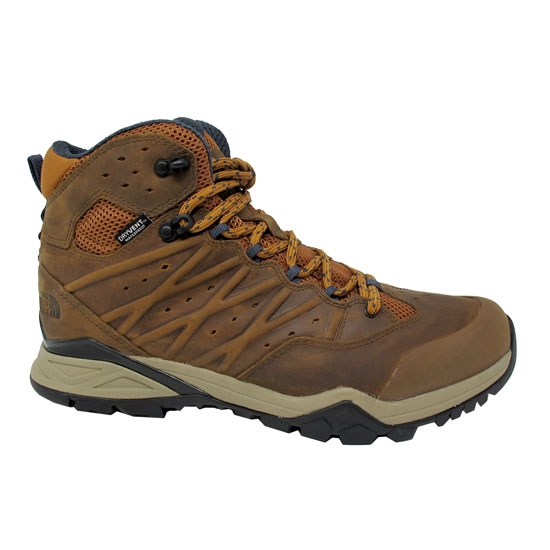 The North Face Hedgehog Hike II Mid Wp - Timber Tan/India Ink