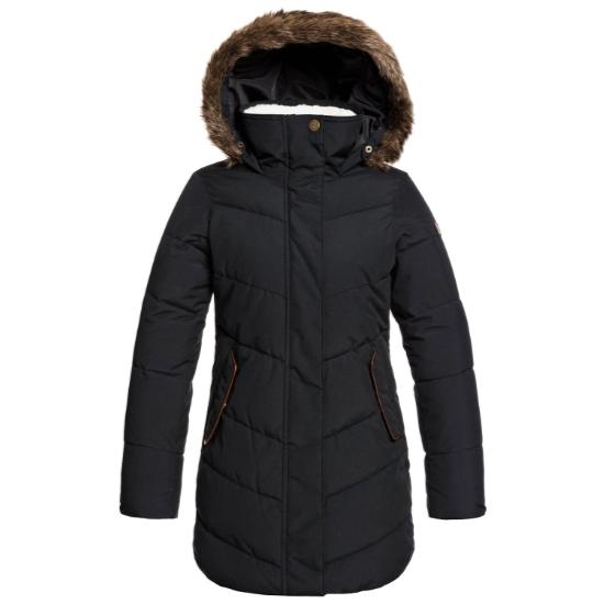 Roxy Elsie Girl Jacket - True Black