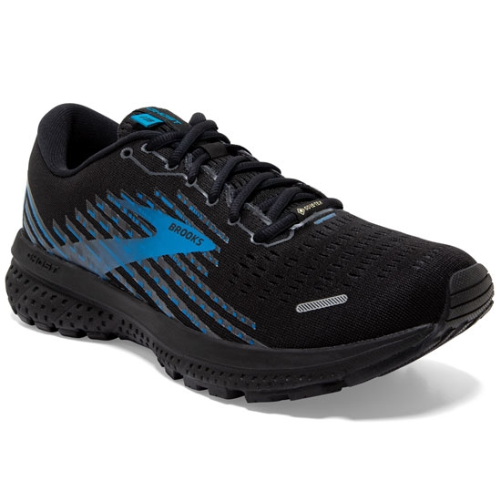 Brooks Ghost 13 Gtx - Black/Grey/Blue