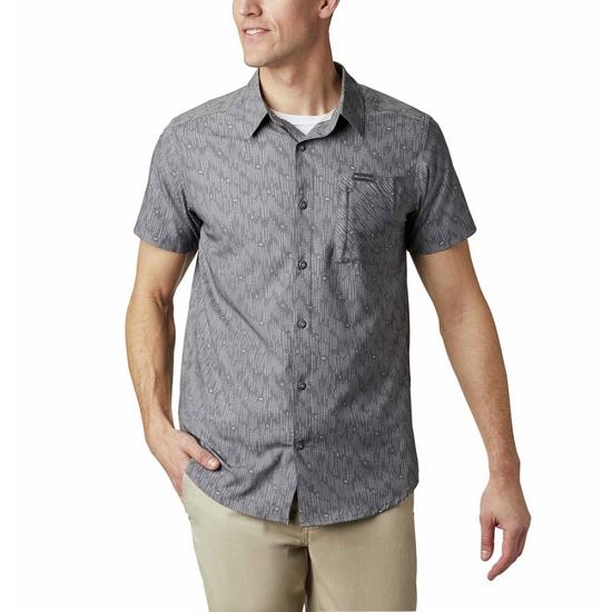 Columbia Triple Canyon SS Shirt - City Grey Maze