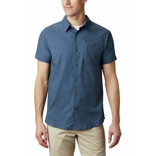 Columbia Triple Canyon SS Shirt - Dark Mountain Maz