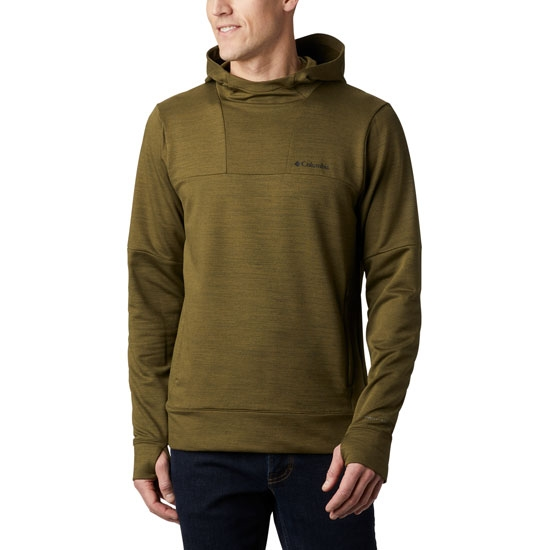 Columbia Maxtrail Ls Midlayer - New Olive