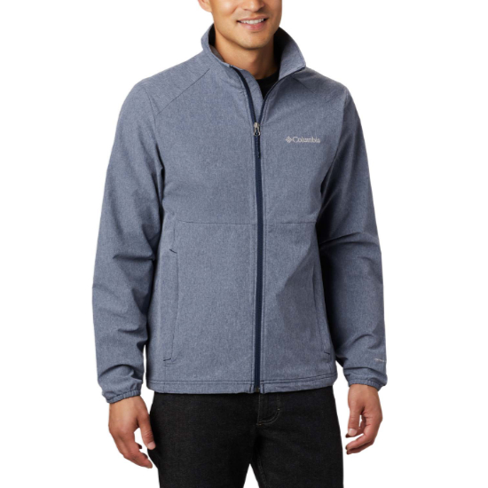 Columbia Heather Canyon Non Hooded Jacket - Blue
