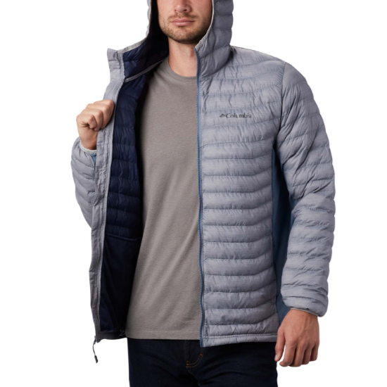 Columbia Powder Pass Hooded Jacket - Photo de détail