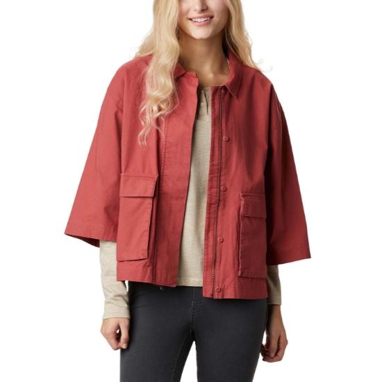 Columbia Summer Chill Jacket W - Dusty Crimson