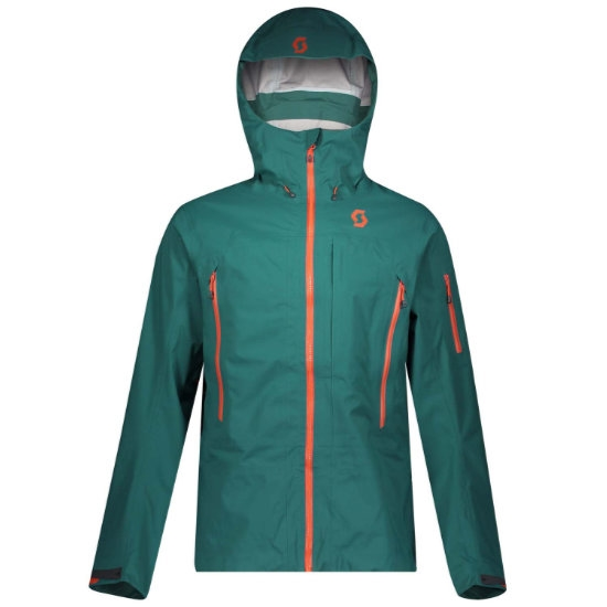 Scott Explorair 3L Jacket - Jasper Green
