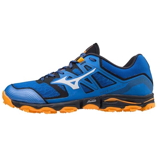 Mizuno Wave Hayate 6 - Princess Blue/Lu Rock/FOrange