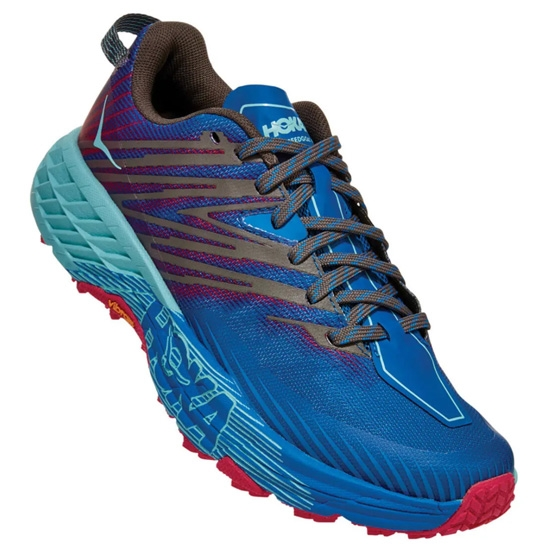 Hoka One One Speedgoat 4 W - Imperial Blue/Pink Peacock