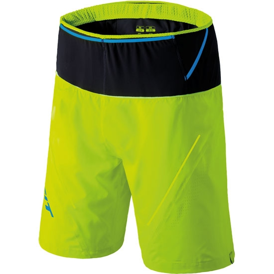 Dynafit Ultra 2 in 1 Shorts - Fluo Yellow