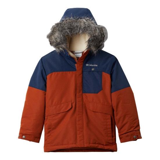 Columbia Nordic Strider Jacket Boy - Orange