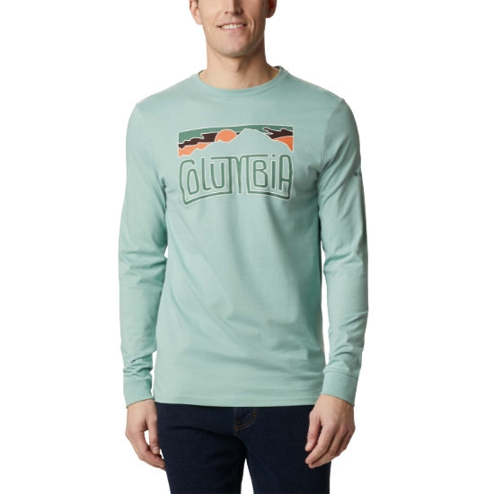 Columbia Outer Bounds Ls Graphic Tee - Green