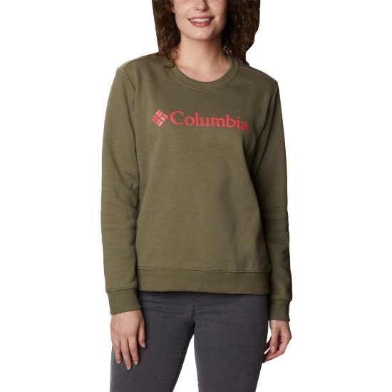 Columbia Logo Crew W - Green