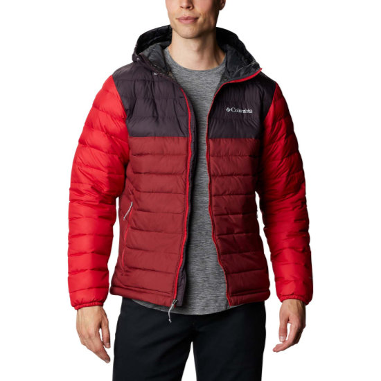 Columbia Powder Lite Hooded - Red