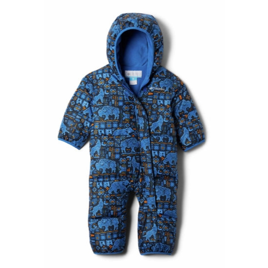 Columbia Snuggly Bunny Bunting - Blue