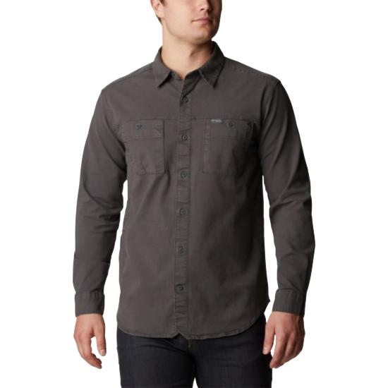 Columbia Flare Gun Canvas Shirt - Black