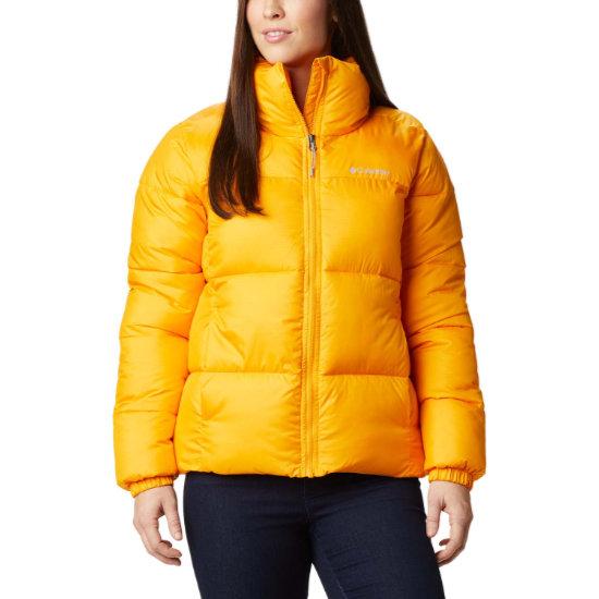 Columbia Puffect Jacket W - Yellow