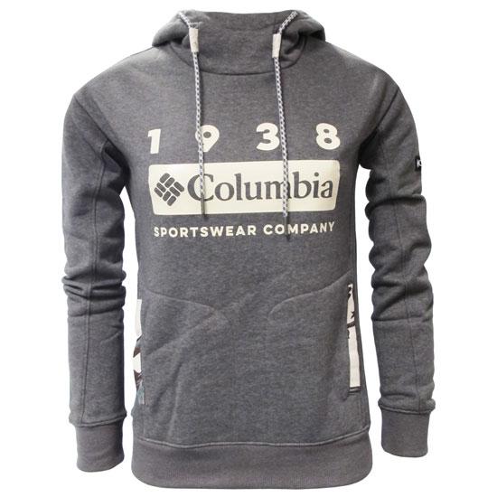Columbia Lodge Hoodie W - Grey