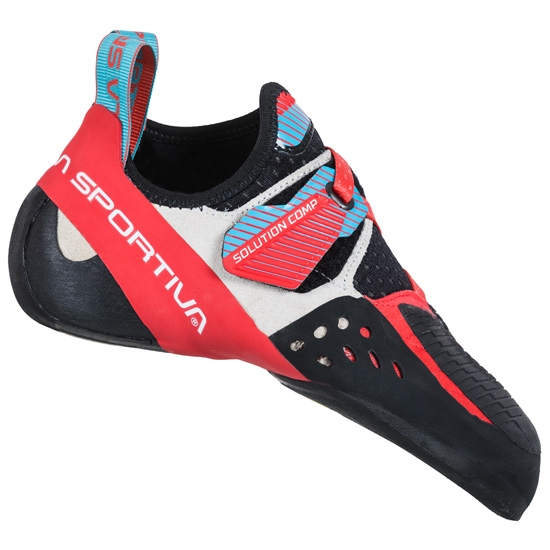 La Sportiva Solution Comp W - Hibiscus/Malibu Blue