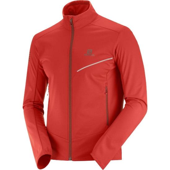 Salomon RS Softshell Jacket - Goji Berry