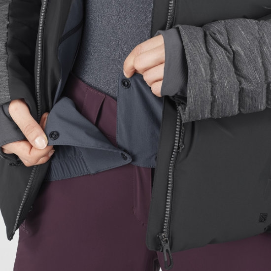 Salomon Warm Ambition Jacket W - Photo de détail