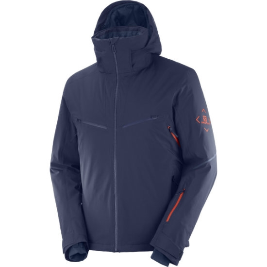 Salomon Brilliant Jacket - Night Sky