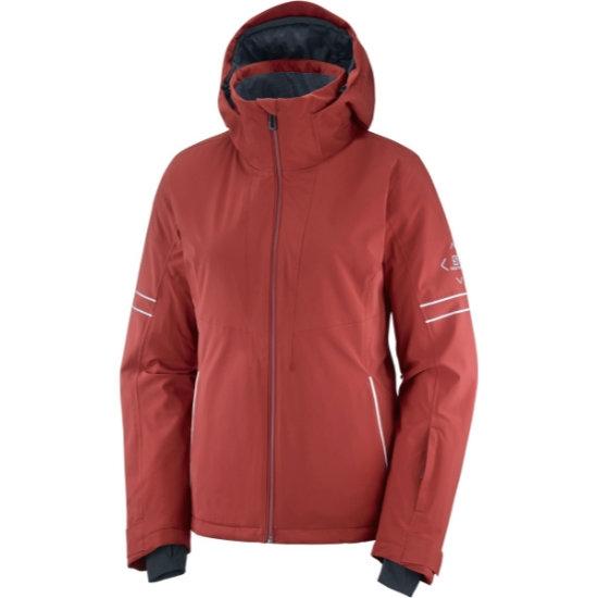 Salomon The Brilliant Jacket W - Red Dahlia