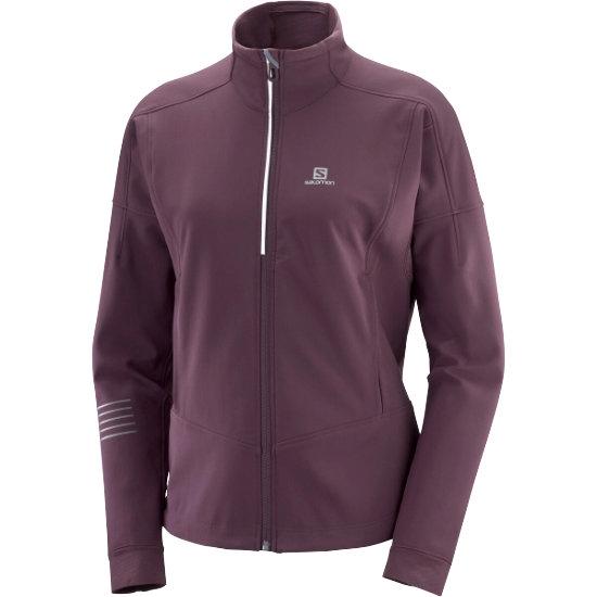 Salomon Lightning Warm Shell Jacket W - Winetasting