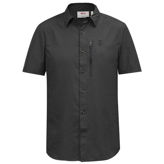 Fjällräven Abisko Hike Shirt SS - Dark Grey