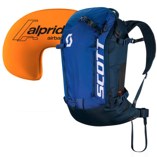 Scott Patrol E1 30 Kit AP - Blue/Dark Blue