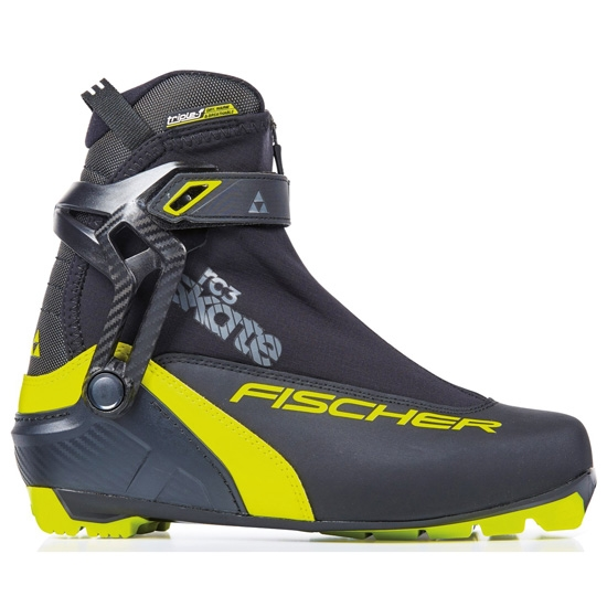Fischer RC3 Skate - Black/Yellow