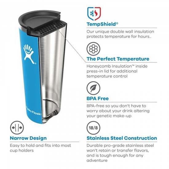 Hydro Flask 16Oz Tumbler - Photo of detail