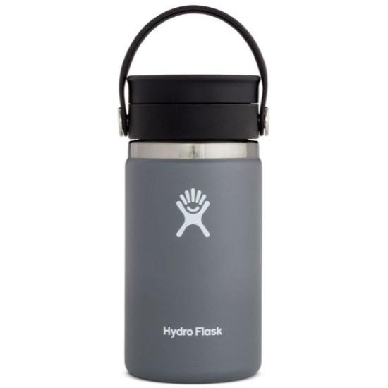 Hydro Flask 12Oz Wide Mouth W/Flex Sip Lid - Stone