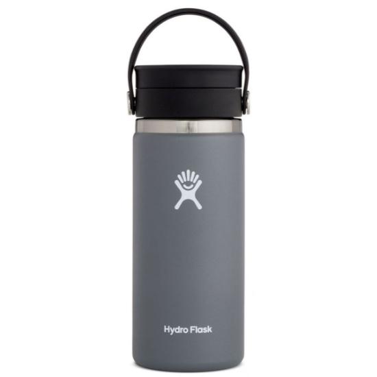Hydro Flask 16Oz Wide Mouth W/Flex Sip Lid - Stone